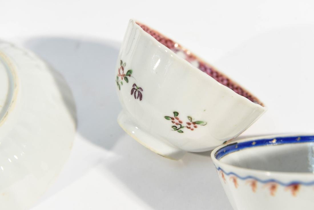 (2) CHINESE EXPORT PORCELAIN CUPS AND SAUCERS - 10