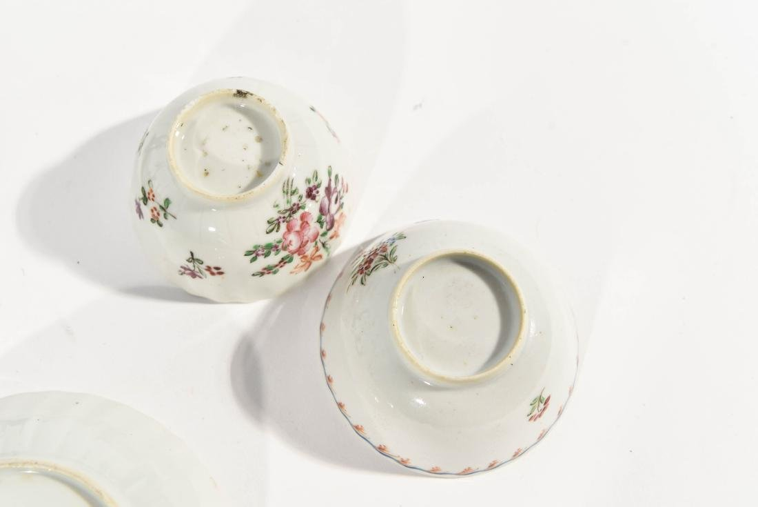 (2) CHINESE EXPORT PORCELAIN CUPS AND SAUCERS - 7
