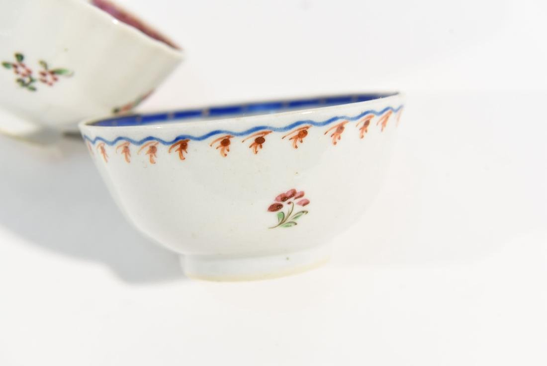 (2) CHINESE EXPORT PORCELAIN CUPS AND SAUCERS - 9
