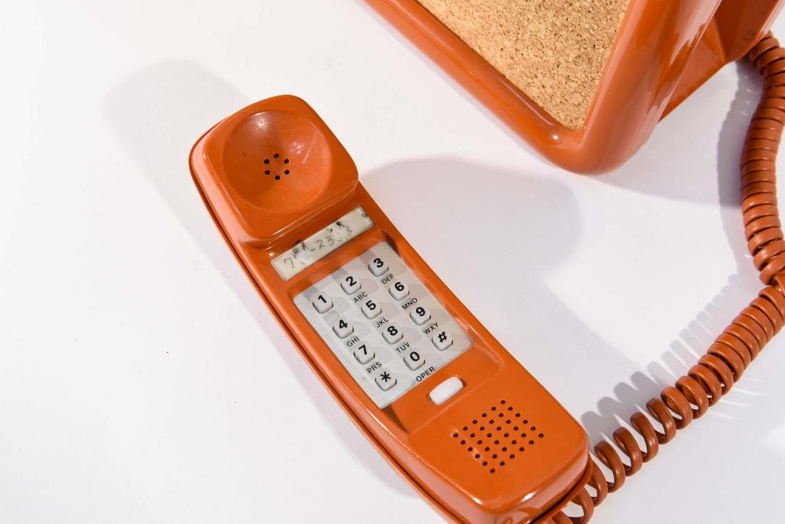 VINTAGE BELL WALL TELEPHONE / CORK BOARD - 4