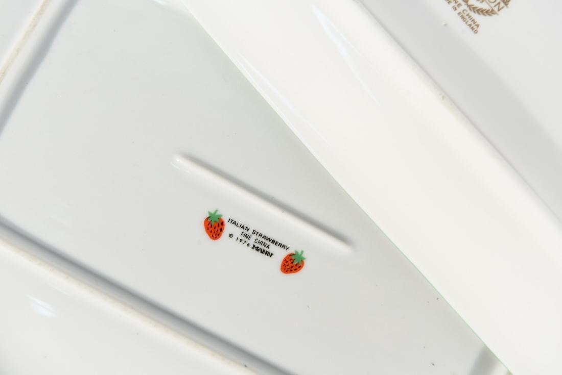 (5) MISC SMALL CERAMIC TRAYS - 9