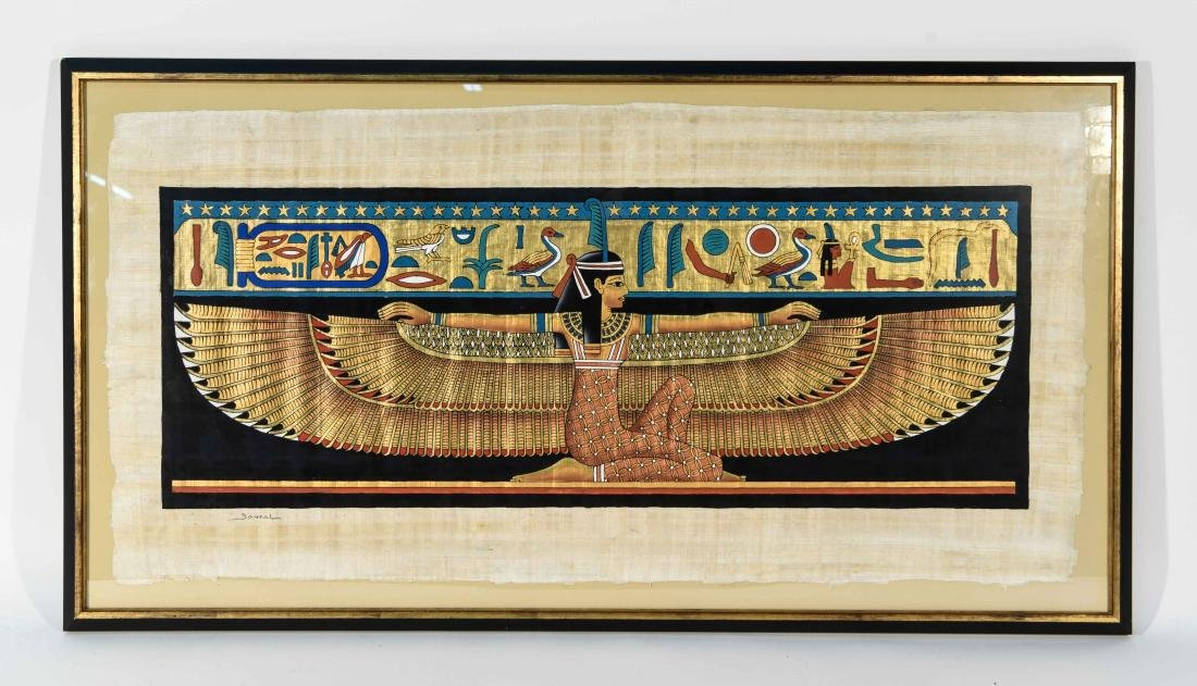 EGYPTIAN REVIVAL PAINTING