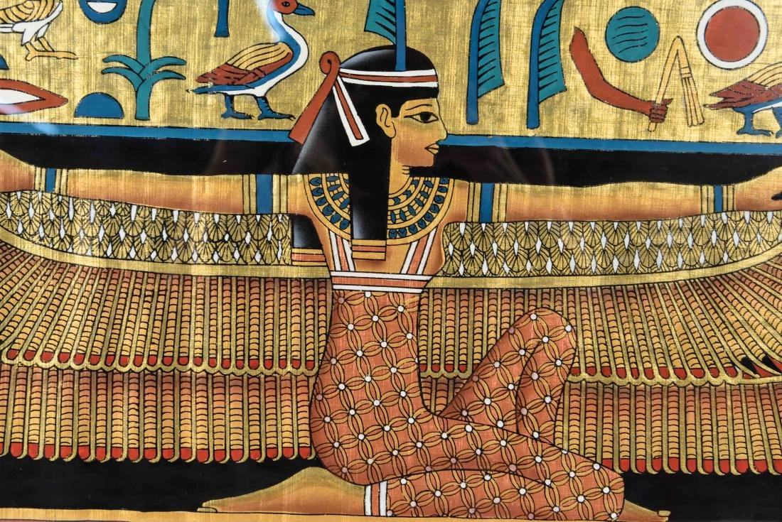 EGYPTIAN REVIVAL PAINTING - 2