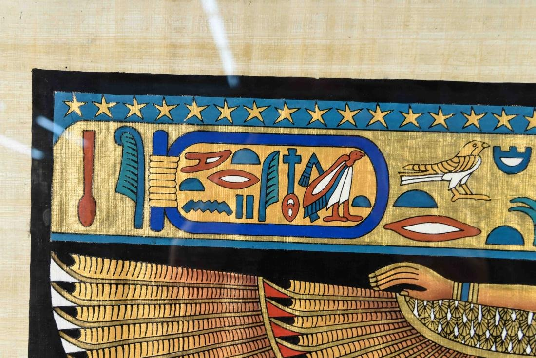 EGYPTIAN REVIVAL PAINTING - 3