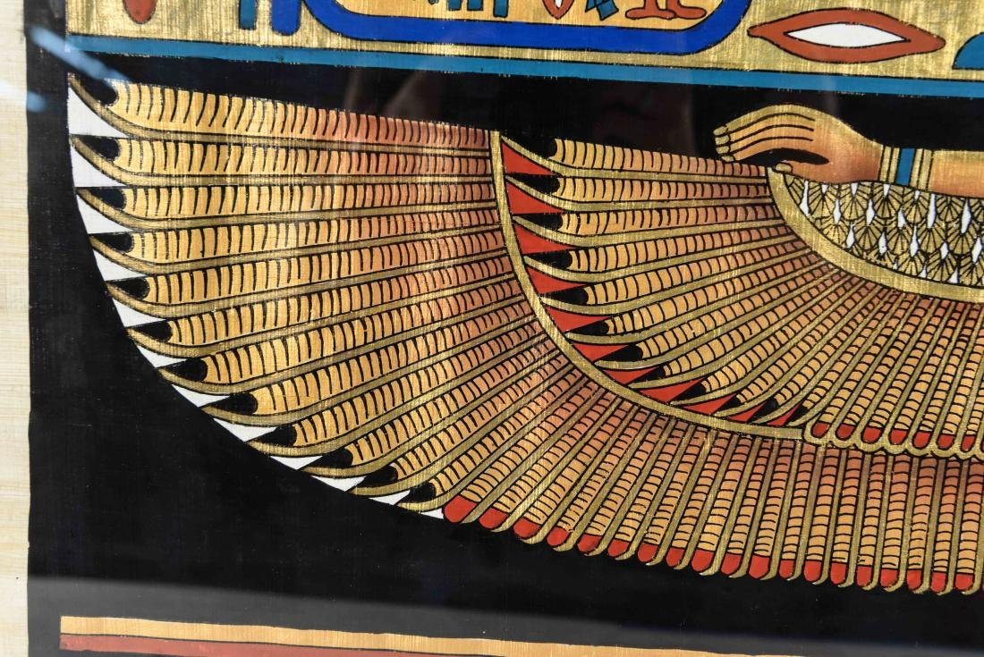 EGYPTIAN REVIVAL PAINTING - 4