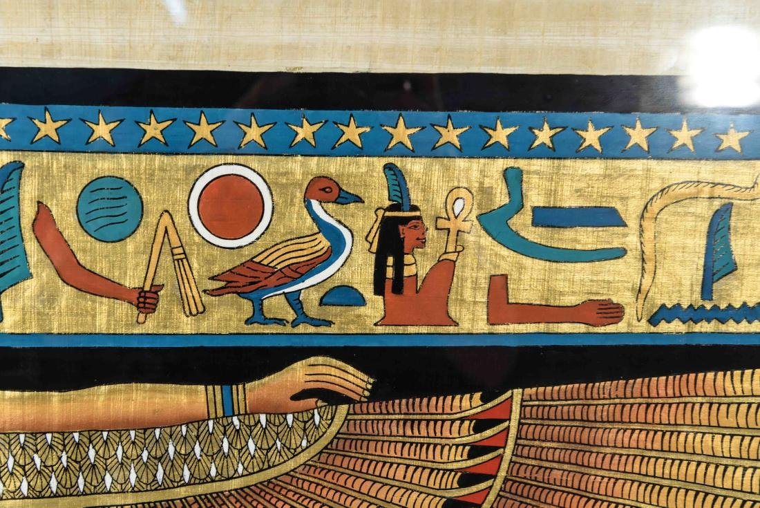 EGYPTIAN REVIVAL PAINTING - 5