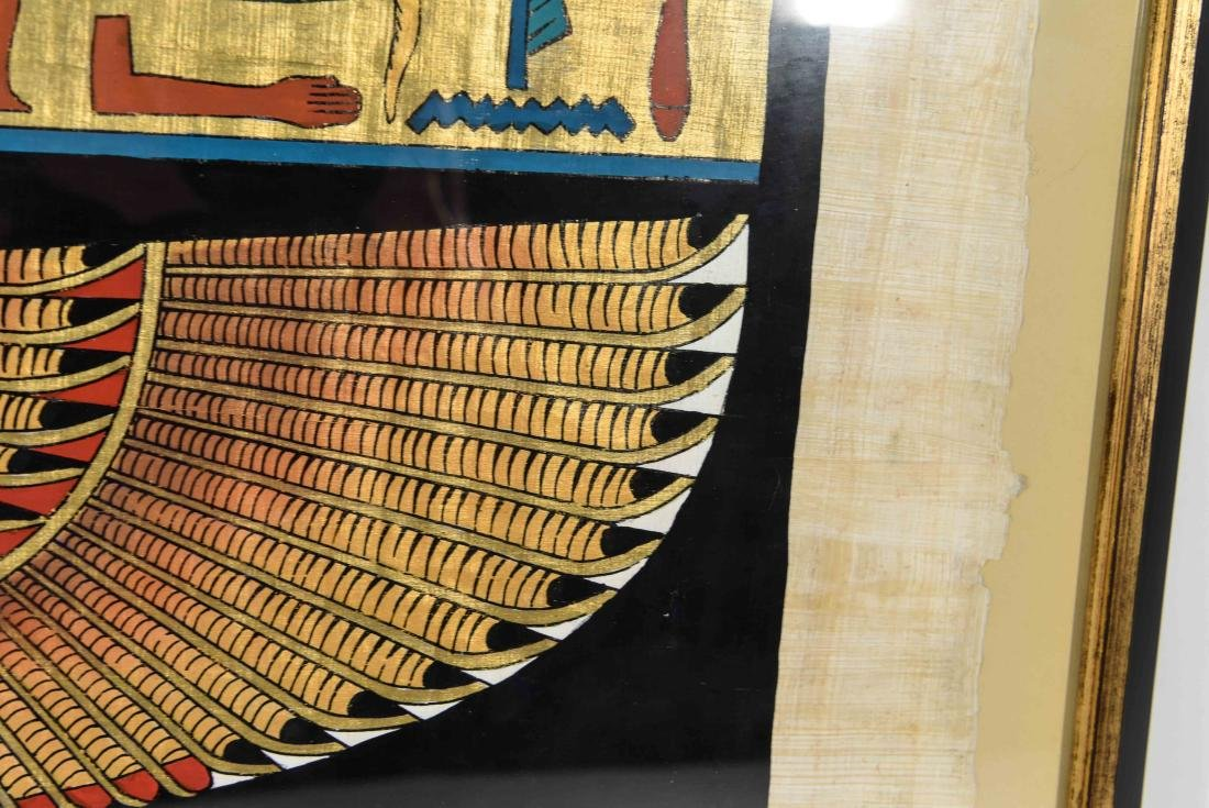 EGYPTIAN REVIVAL PAINTING - 7