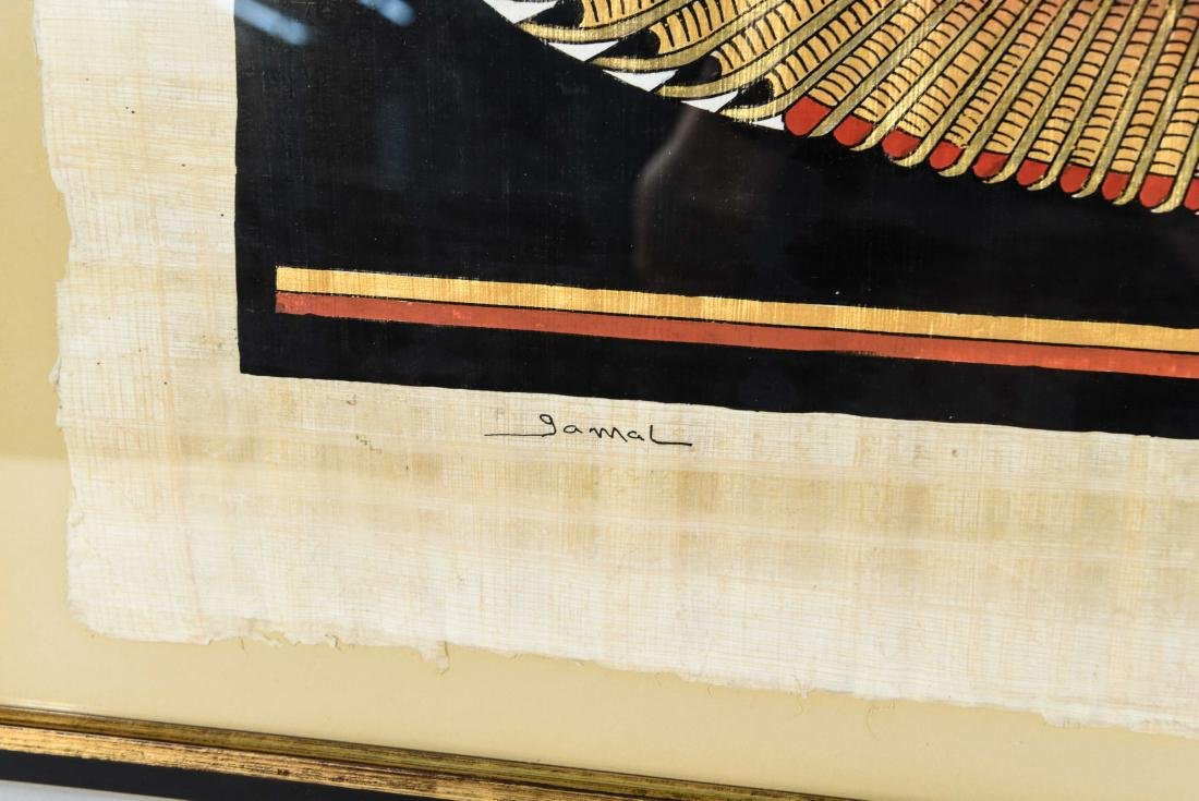 EGYPTIAN REVIVAL PAINTING - 8