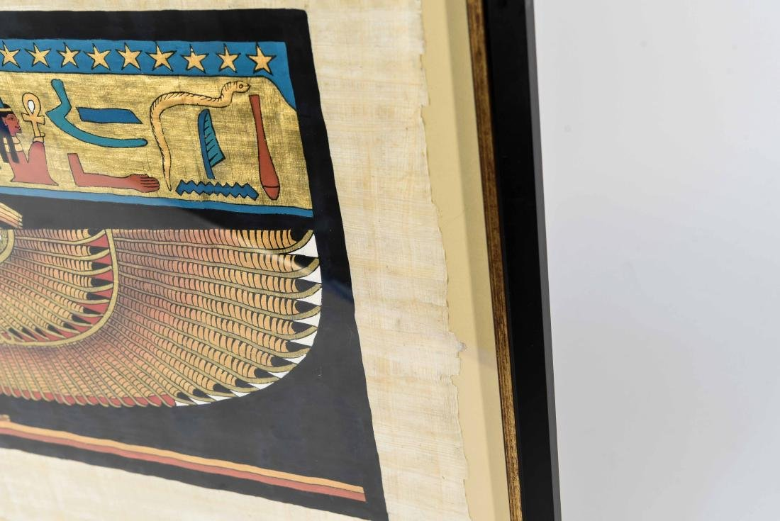 EGYPTIAN REVIVAL PAINTING - 9