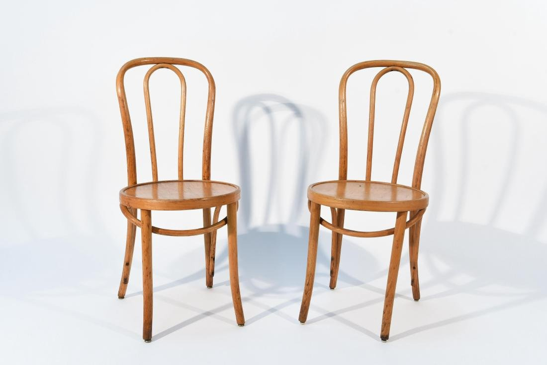 (2) THONET BENTWOOD CHAIRS