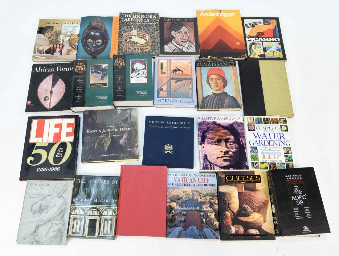 GROUPING OF CONTEMPORARY ART BOOKS