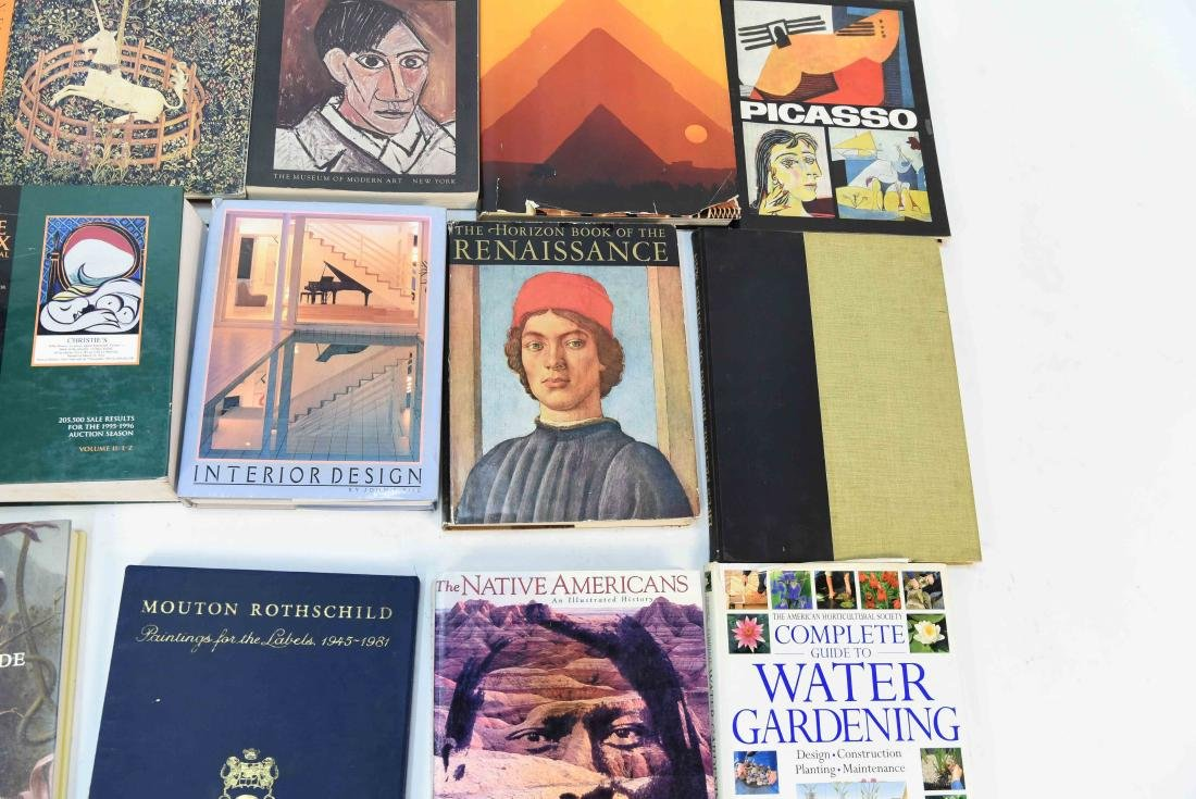 GROUPING OF CONTEMPORARY ART BOOKS - 4