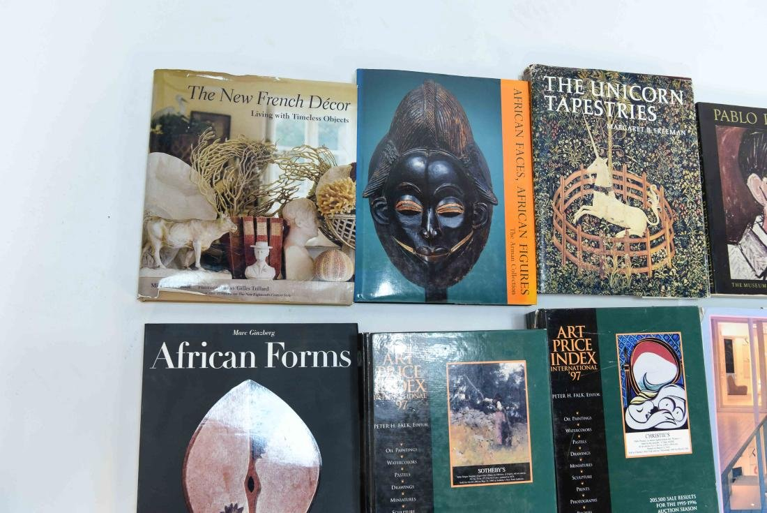 GROUPING OF CONTEMPORARY ART BOOKS - 6