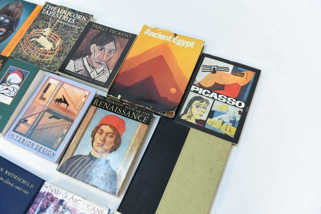 GROUPING OF CONTEMPORARY ART BOOKS - 7