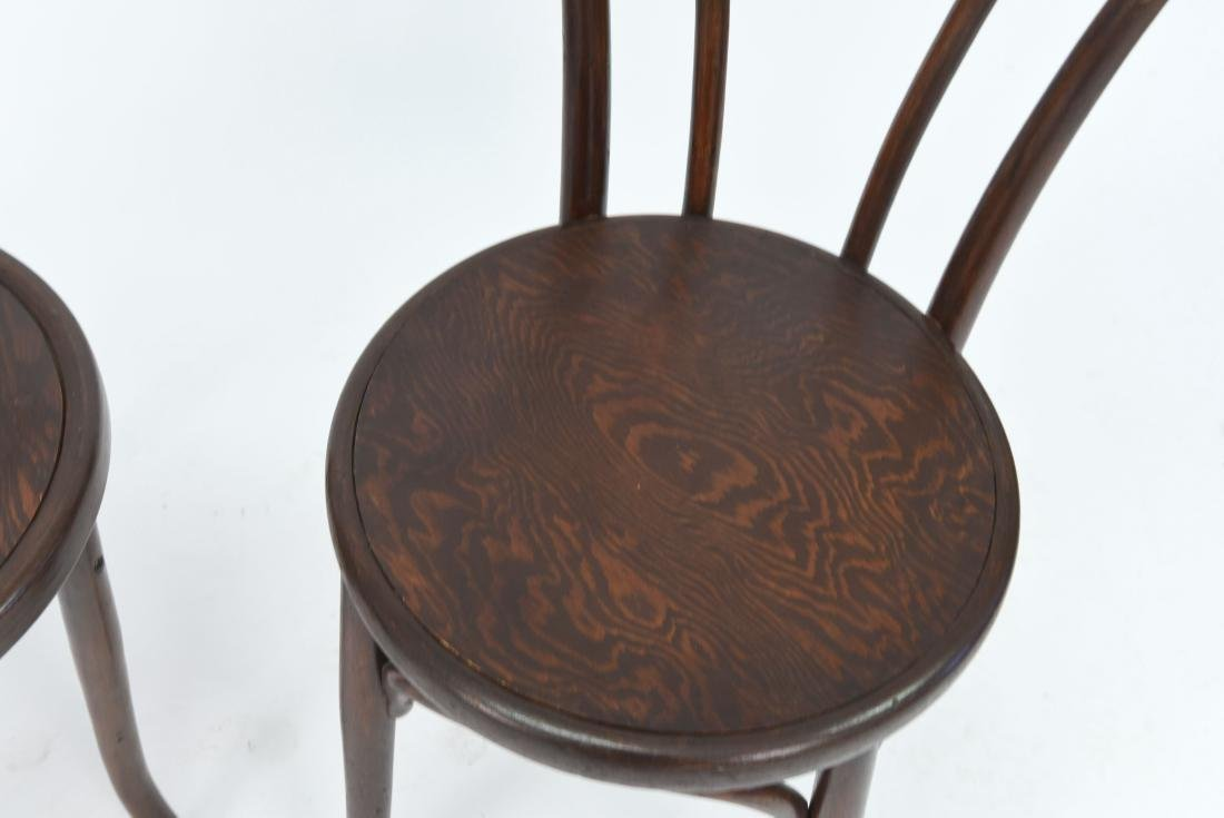 PAIR OF BENTWOOD BISTRO CHAIRS - 2
