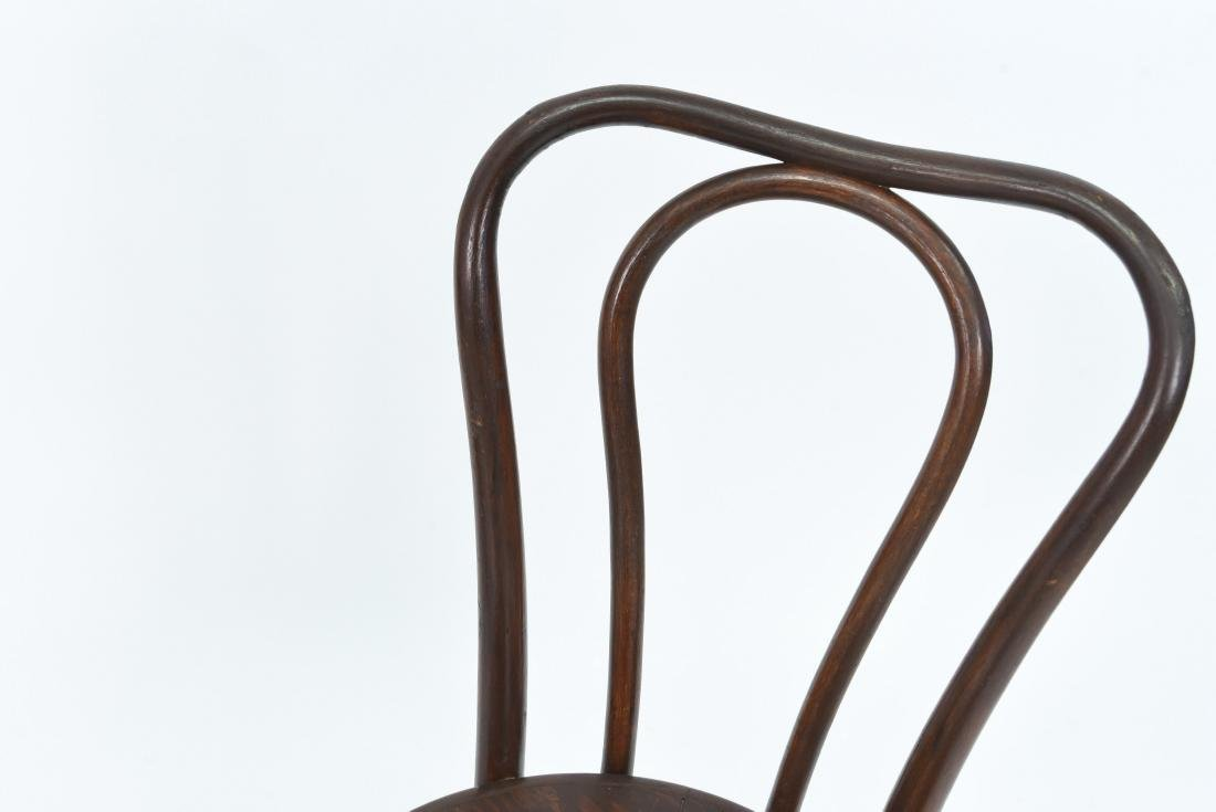 PAIR OF BENTWOOD BISTRO CHAIRS - 3