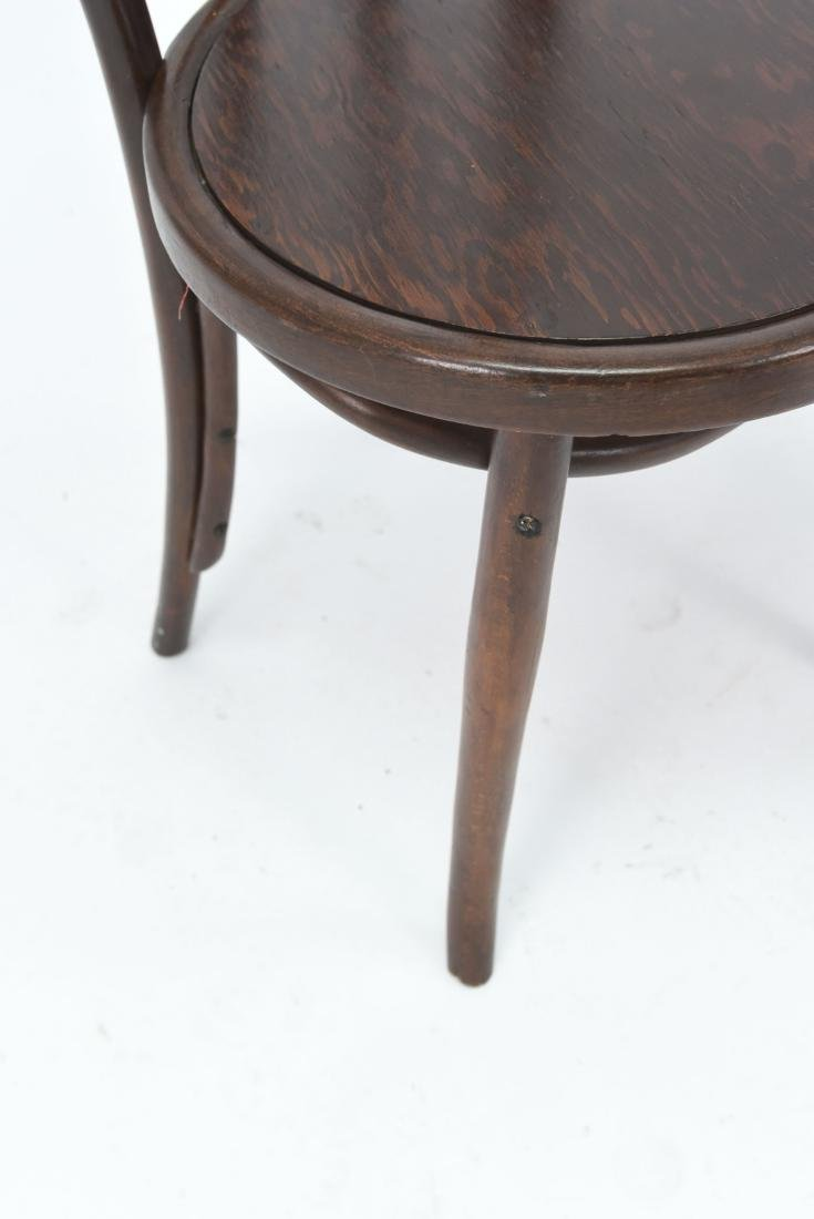 PAIR OF BENTWOOD BISTRO CHAIRS - 5
