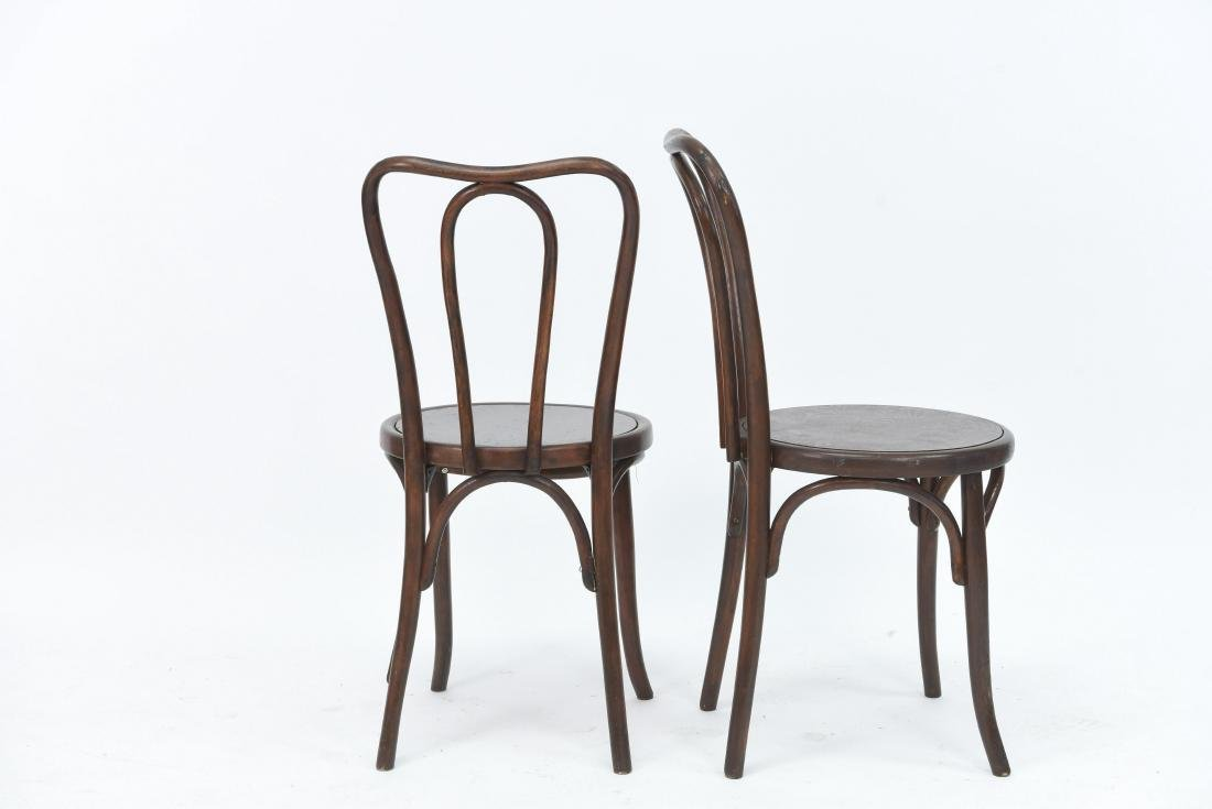 PAIR OF BENTWOOD BISTRO CHAIRS - 6
