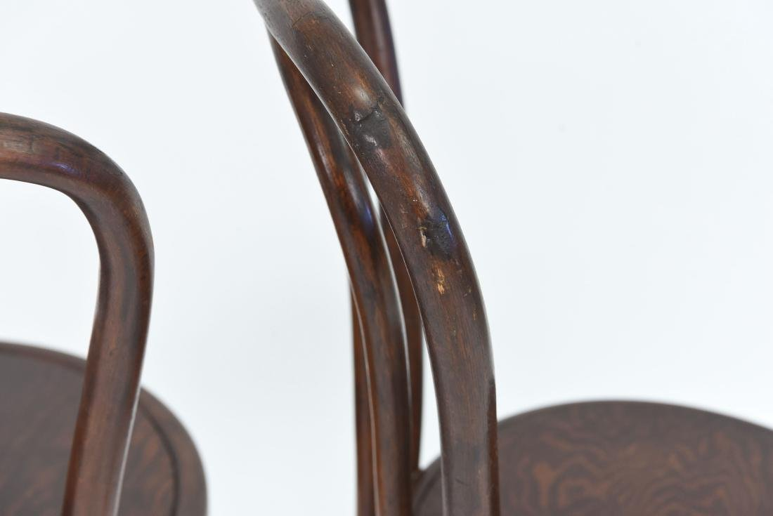 PAIR OF BENTWOOD BISTRO CHAIRS - 7