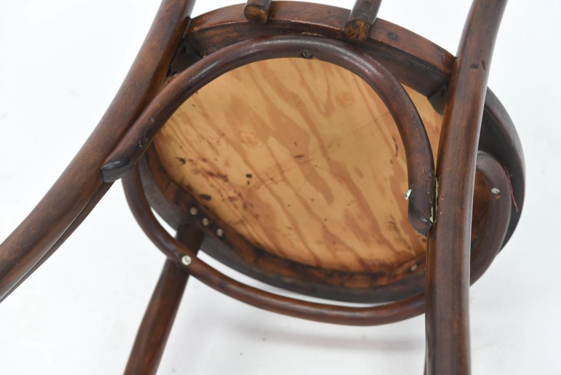 PAIR OF BENTWOOD BISTRO CHAIRS - 9