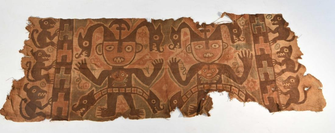 CHANCAY PAINTED TEXTILE BAND