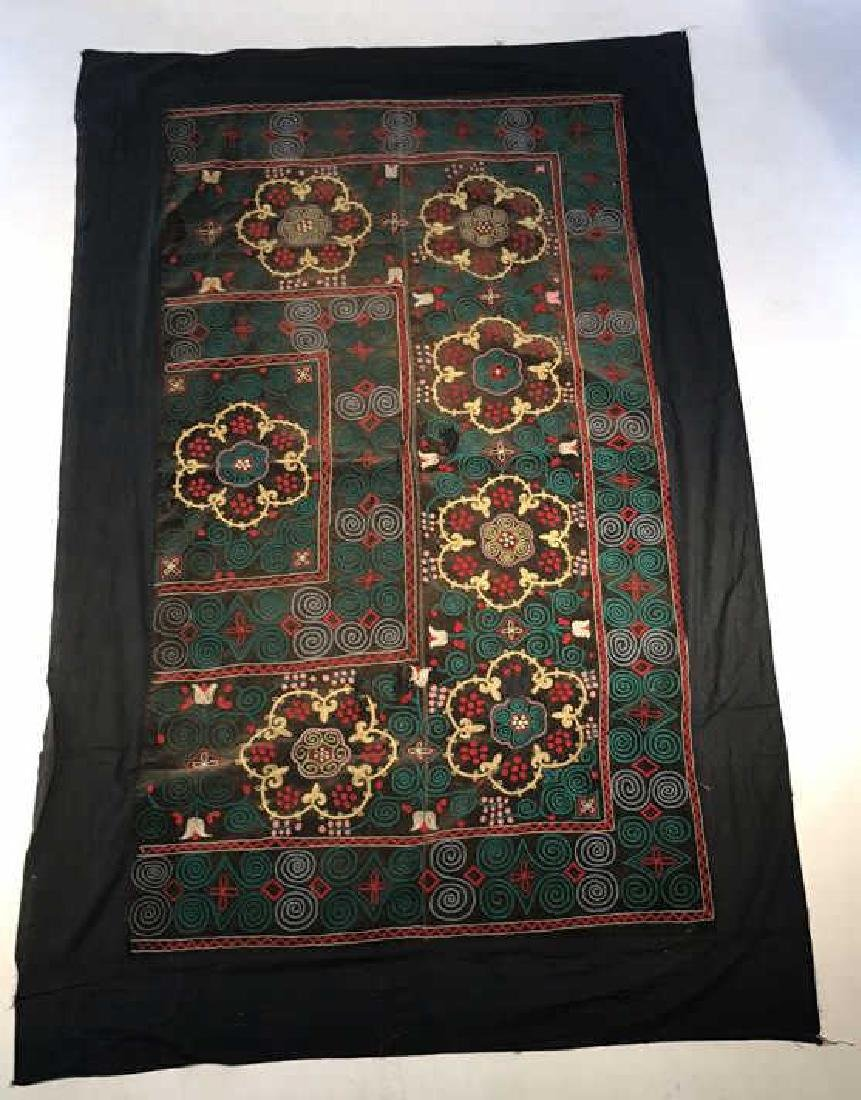 EMBROIDERED YURT HANGING OR SAYMA
