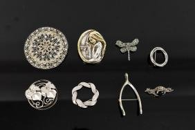GROUPING OF STERLING JEWELRY INCL. ISRAELI
