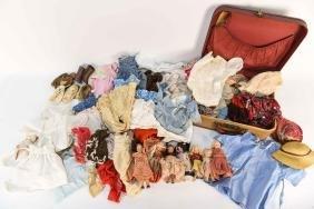 ANTIQUE DOLL CLOTHES/SHOES