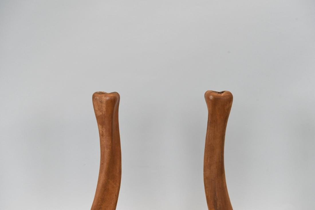 ELSA PERETTI TERRACOTTA CANDLESTICKS FOR TIFFANY - 2