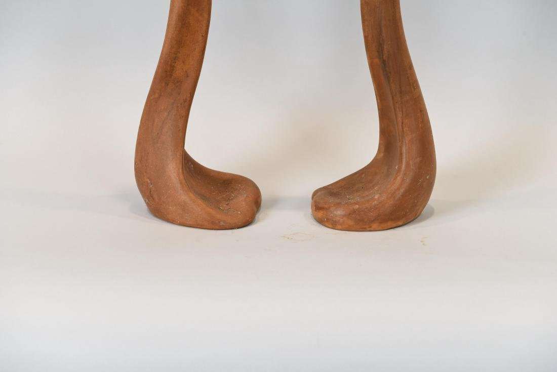 ELSA PERETTI TERRACOTTA CANDLESTICKS FOR TIFFANY - 4