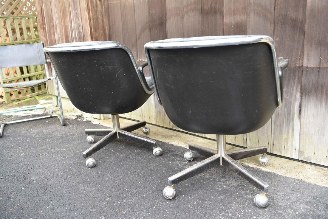 PAIR OF KNOLL POLLACK CHAIRS - 5