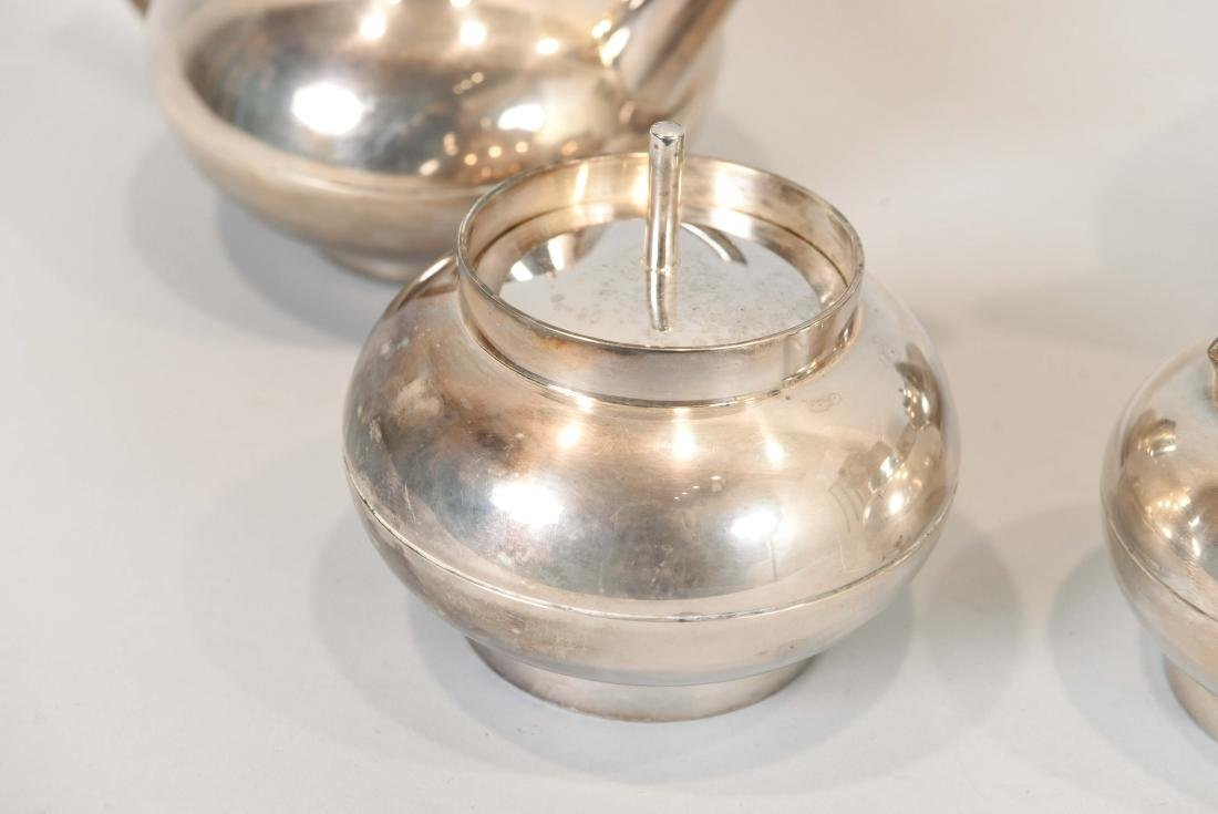 CHRISTOFLE SILVER PLATE TEA SET - 2