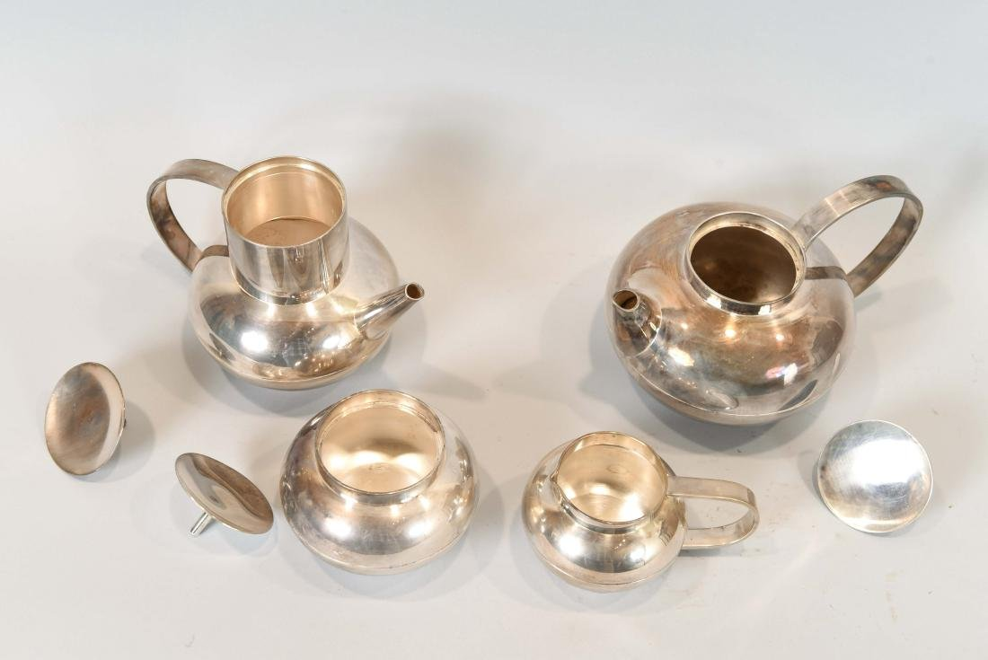 CHRISTOFLE SILVER PLATE TEA SET - 6