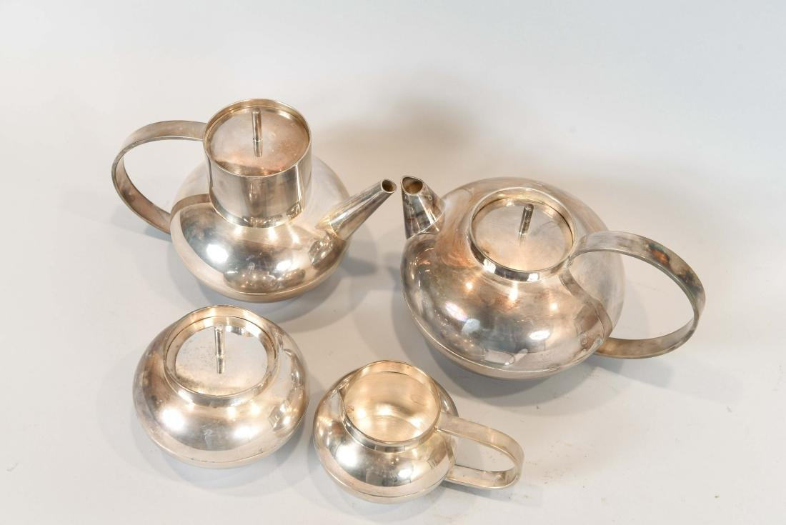 CHRISTOFLE SILVER PLATE TEA SET - 8