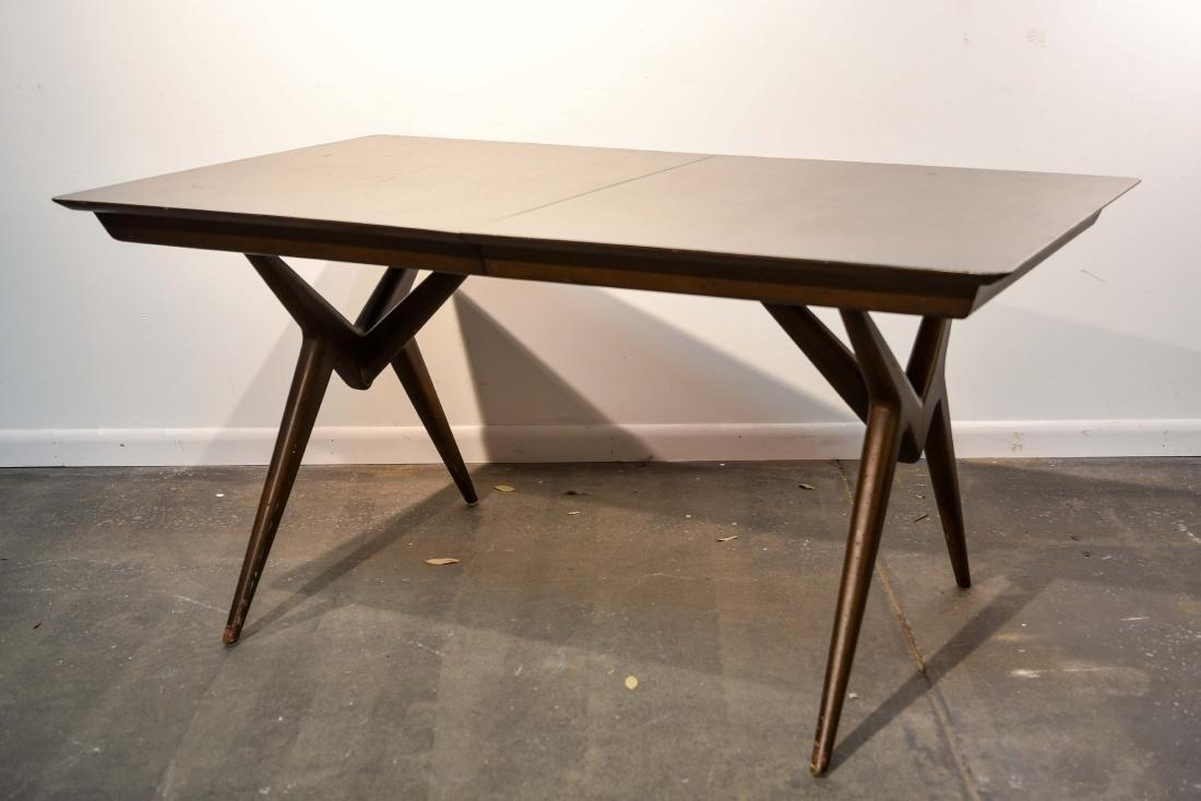 RENZO RUTILI STYLE MID-CENTURY DINING TABLE