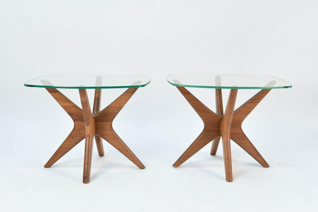 PAIR OF ADRIAN PEARSALL JACKS TABLES