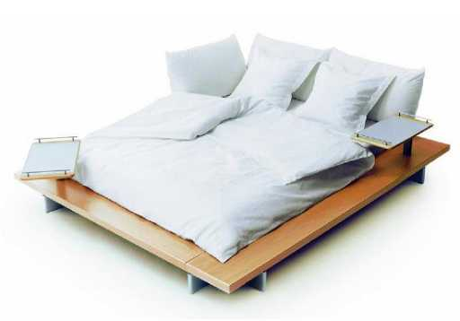 Ligne Roset Peter Maly Queen Platform Bed - Maly-platform-bed-by-ligne-roset