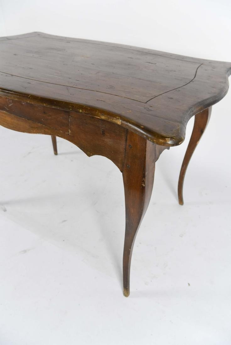 1800'S ROCOCO WOODEN TABLE - 4