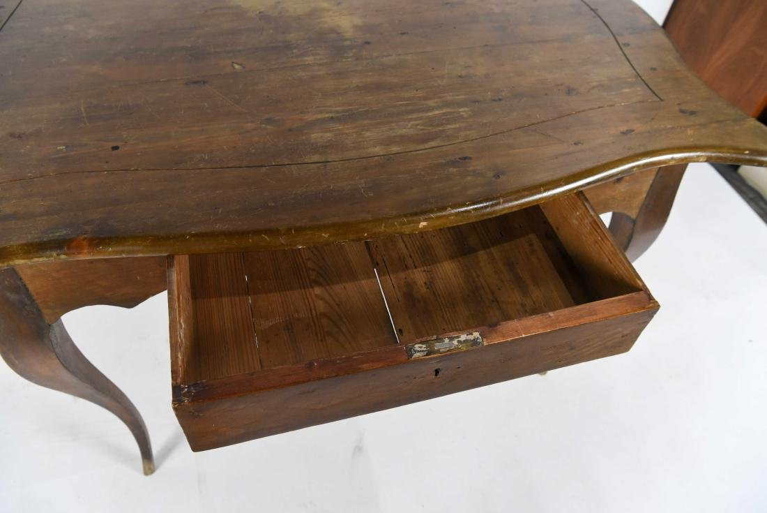 1800'S ROCOCO WOODEN TABLE - 5