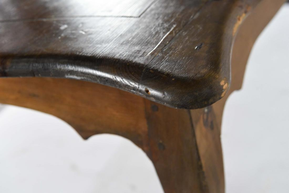 1800'S ROCOCO WOODEN TABLE - 7