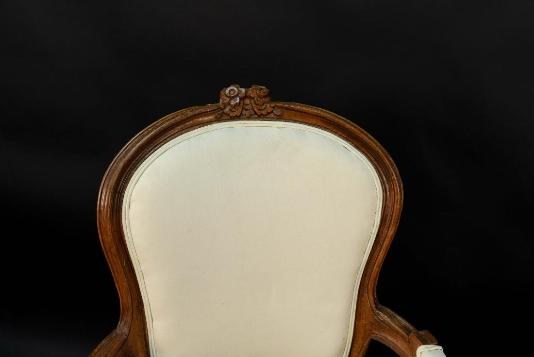 PAIR OF FRENCH CHAIRS - 3