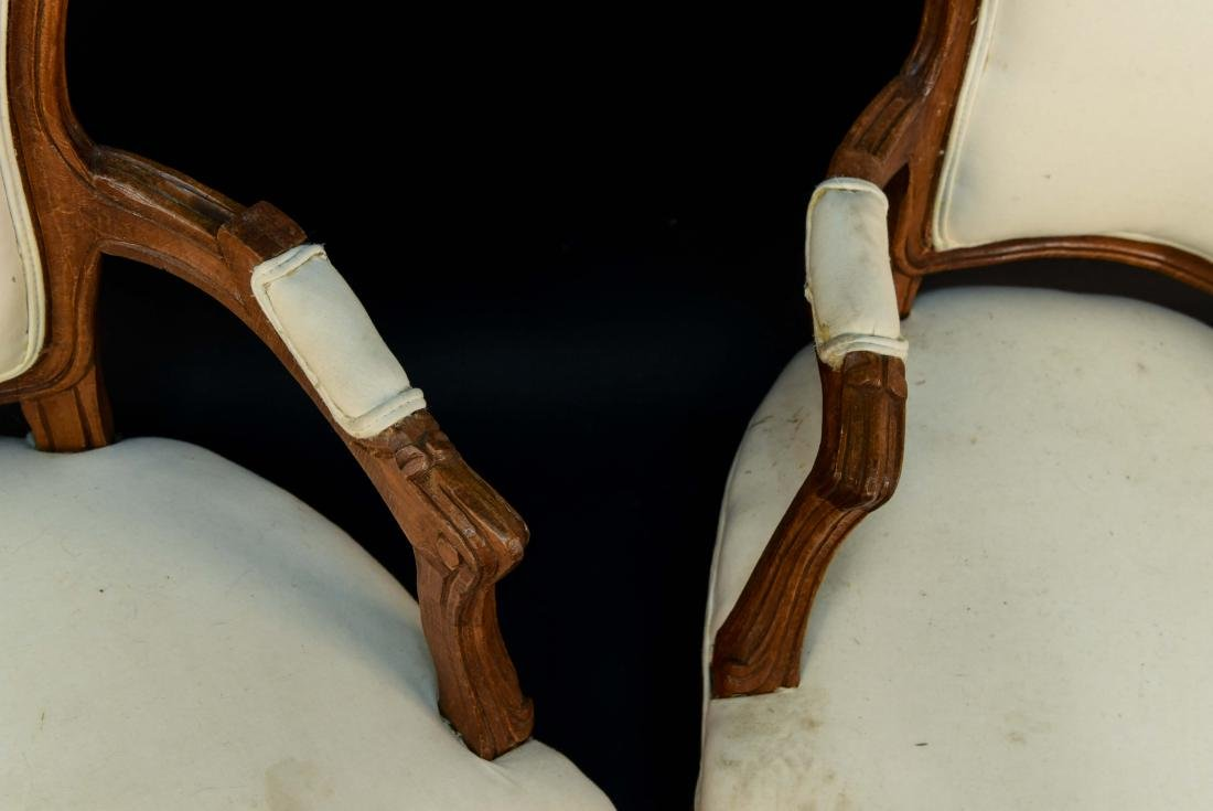 PAIR OF FRENCH CHAIRS - 5