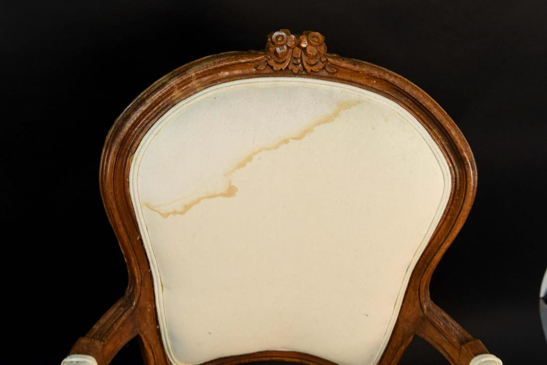 PAIR OF FRENCH CHAIRS - 6