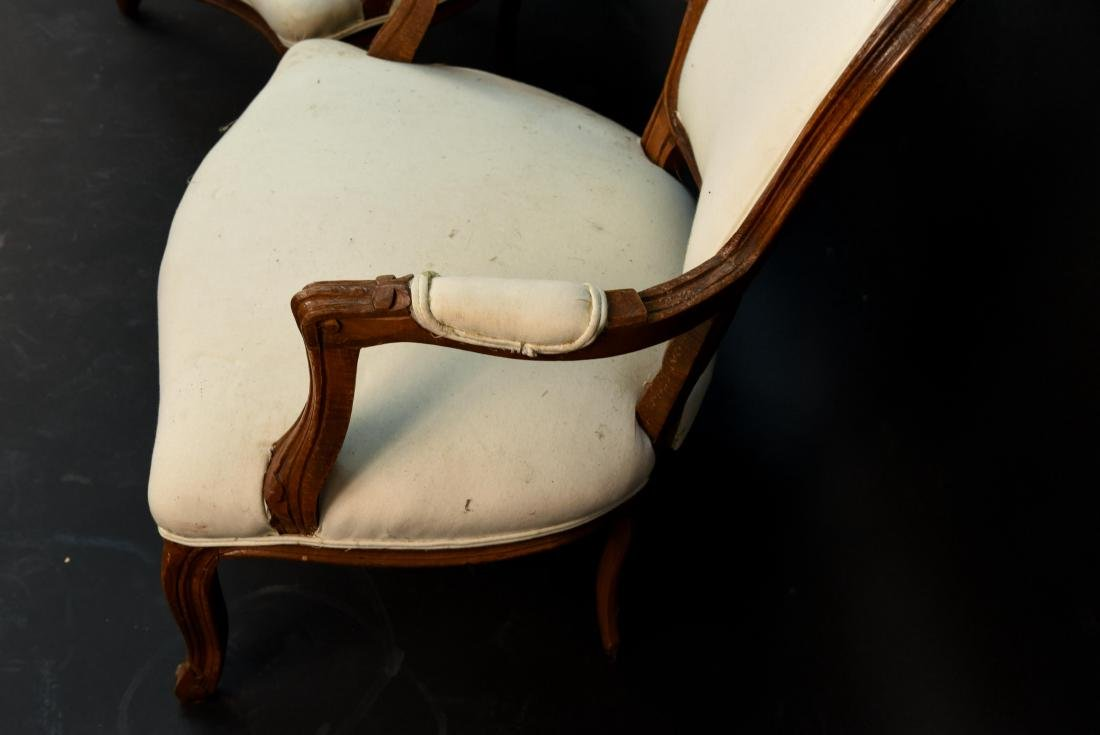 PAIR OF FRENCH CHAIRS - 7