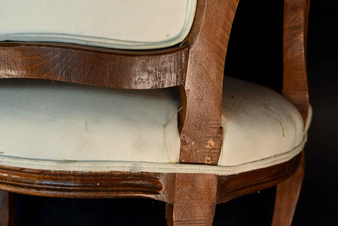PAIR OF FRENCH CHAIRS - 9