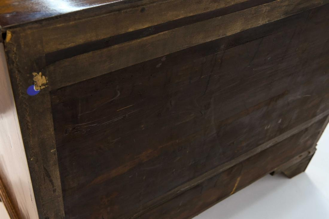 GEORGIAN TWO OVER THREE CHEST OF DRAWERS - 7