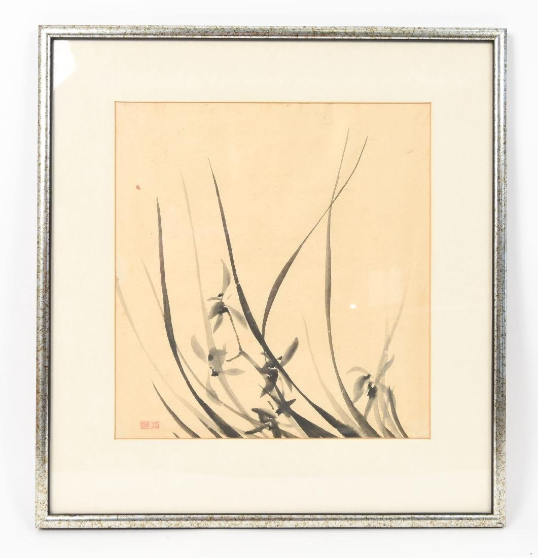 20TH CENTURY JAPANESE INK DRAWING