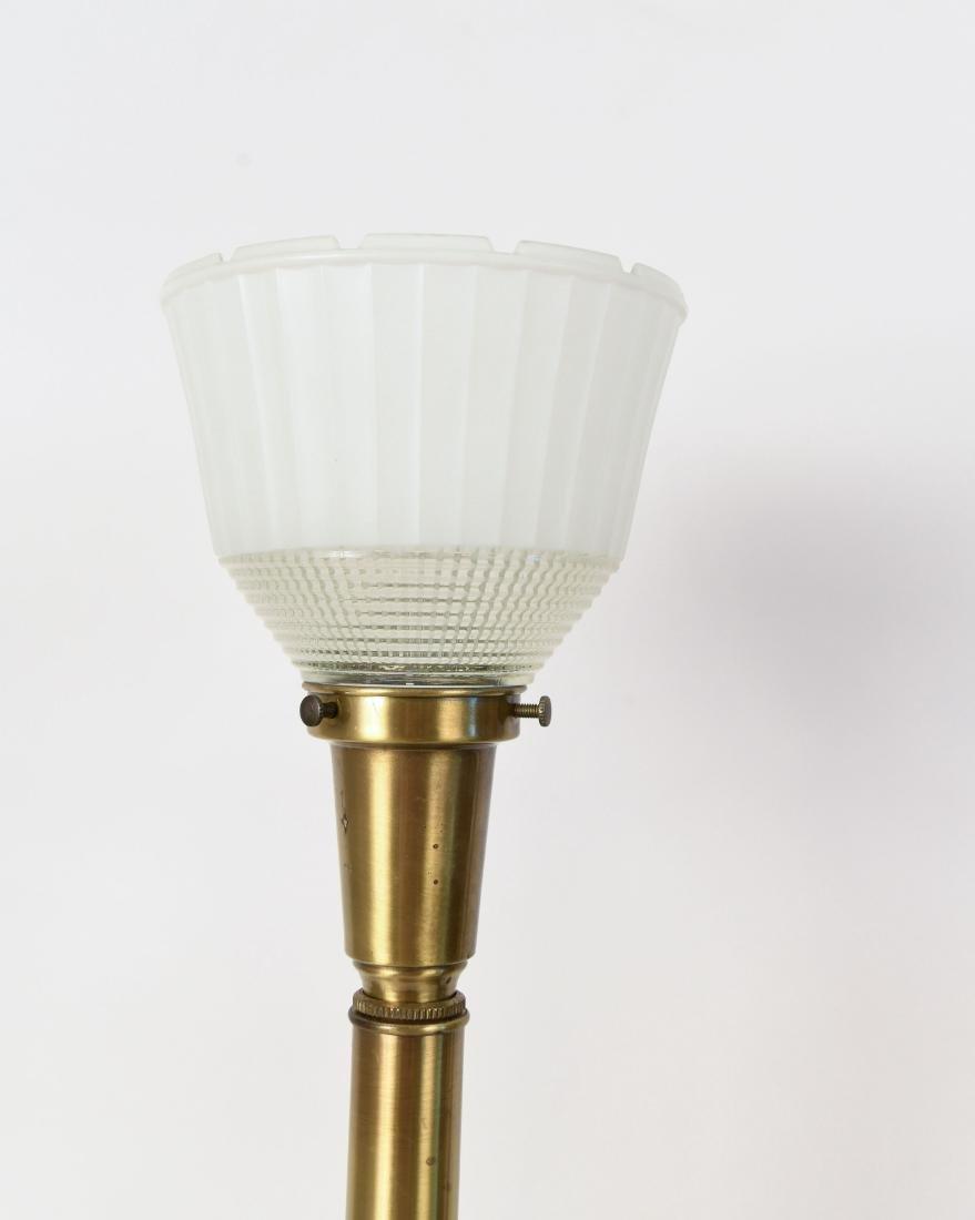 PAIR OF MID CENTURY CERAMIC LAMPS - 2