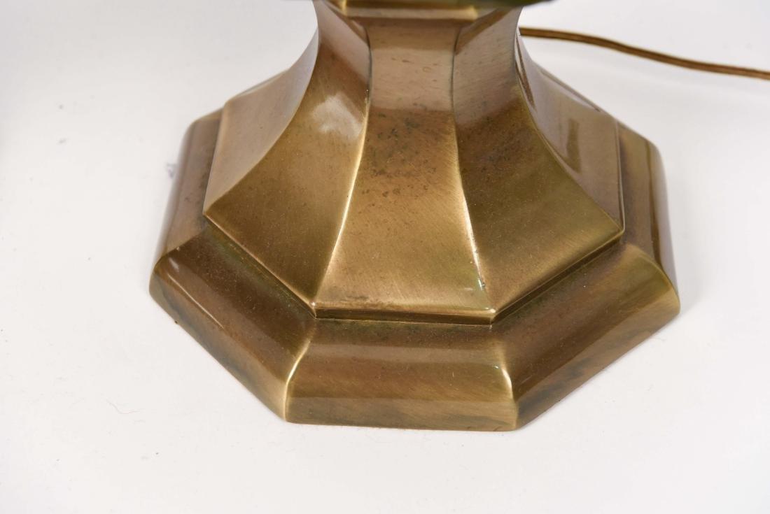 PAIR OF MID CENTURY CERAMIC LAMPS - 8