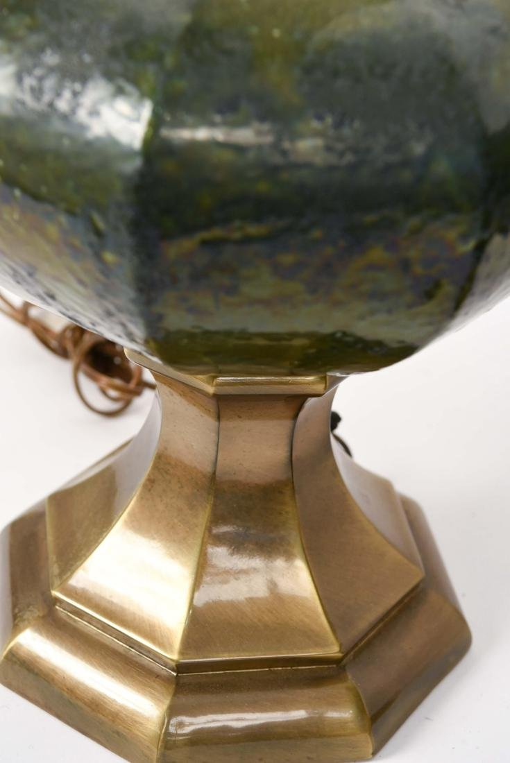 PAIR OF MID CENTURY CERAMIC LAMPS - 9
